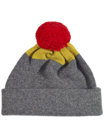 Jo Gordon - Top Spot Hat Plain Pompom - Grey