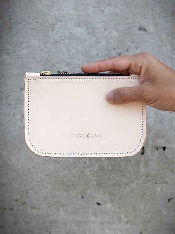 Cuero & Mor - Leather Wallet - Natural