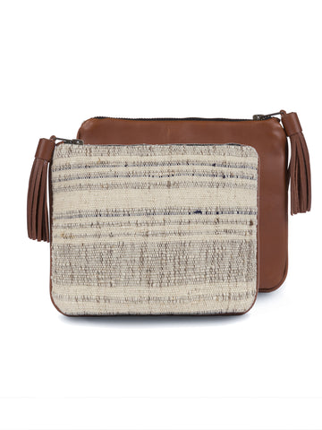 Mercado Global - Josephine Clutch - Taupe