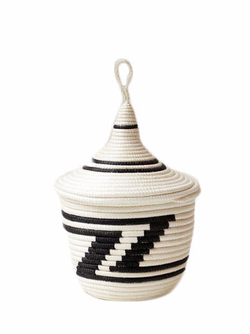 Indego Africa - Peace Basket - Black