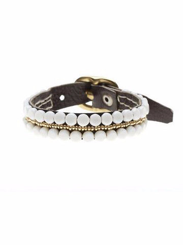 Sidai Leather Buckle Bracelet