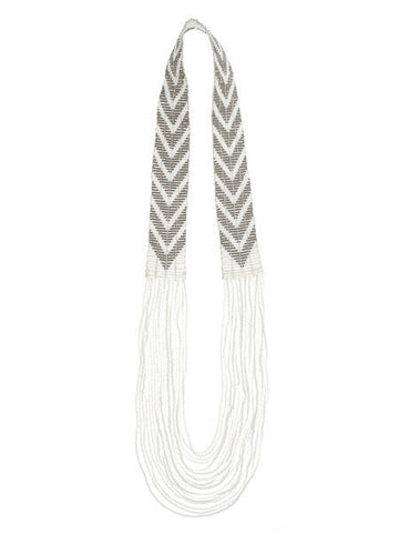 Sidai - Beaded Maasai Necklace