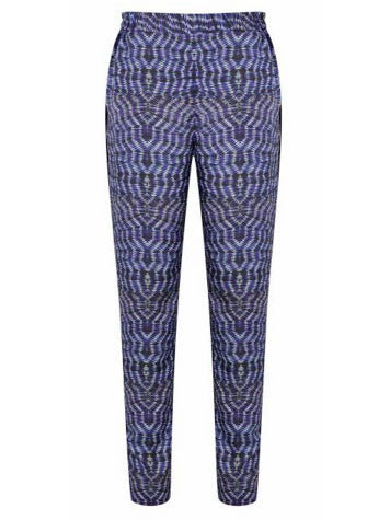 Uzma Bozai - Crepe de Chine Trousers - Blue