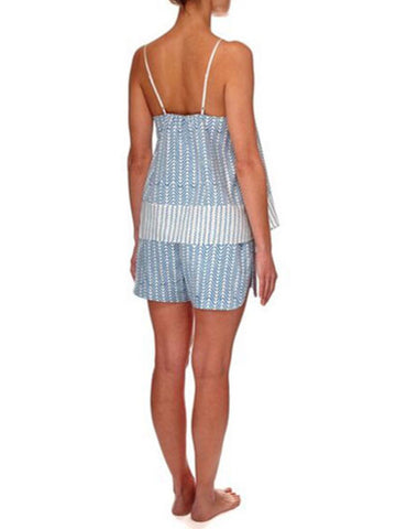Eight Hour Studio - Organic Cotton Camisole - Blue