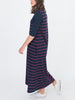 Beaumont Organic - Sophia Maxi Dress - Navy & Red