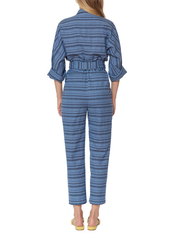 Mara Hoffman - Drop Sleeve Jumpsuit - Blue