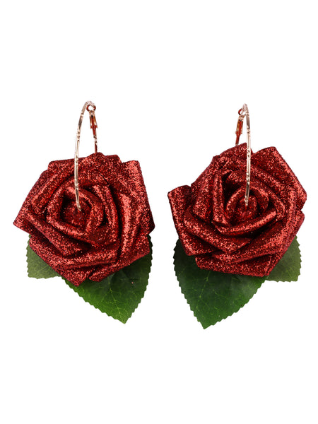 Gung Ho - Sparkles Earrings - Red