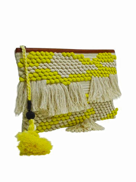 Guadalupe - Majorca Clutch - Yellow