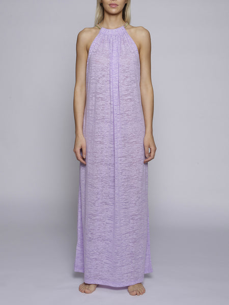 Pitusa - Aegean Long Dress - Lavender