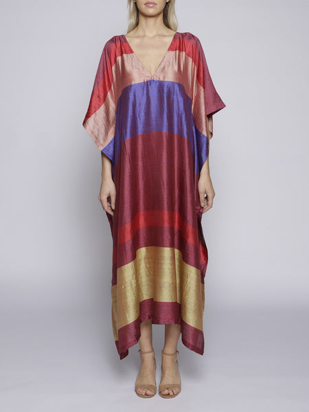 A Peace Treaty - Pure Silk Kaftan Faova