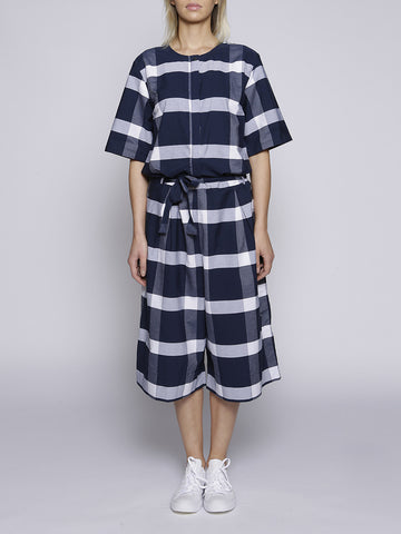 Kowtow - Pen to Paper Jumpsuit - Blue