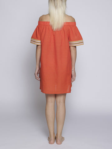 Uzma Bozai - Heny Dress - Orange