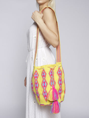 Castellano - Mochila Bag - Yellow
