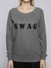 Ethical Collection x Fine Cell Work - SWAG Jumper - Grey