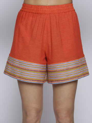 Uzma Bozai - Fynn Shorts - Orange