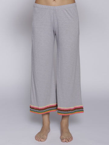 Pitusa Mini Crop Pant - Grey