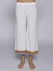 Pitusa Mini Crop Pant - White