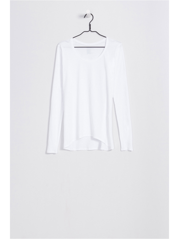 Kowtow - Organic Cotton Long Sleeve Top - White
