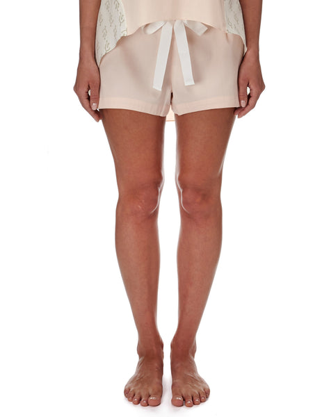Eight Hour Studio - Organic Cotton Shorts - Blush