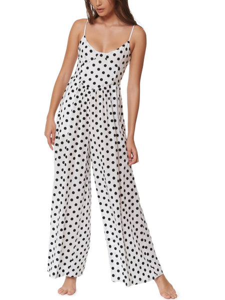 Mara Hoffman - Polka Jumpsuit - Black and White