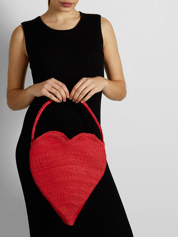 Shicato - Heart Bag - Red