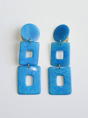 Shicato - Ricarda Earrings - Turquoise