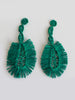 Shicato - Fan Earrings - Green