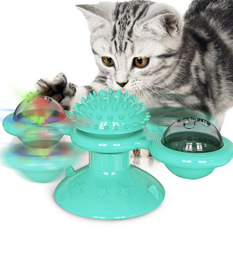 Amazing Windmill Cat Toy