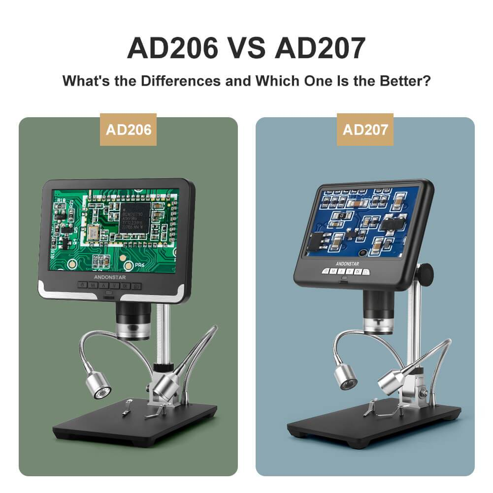 AD206 VS AD207: What are the Differences and Which One Is Better?