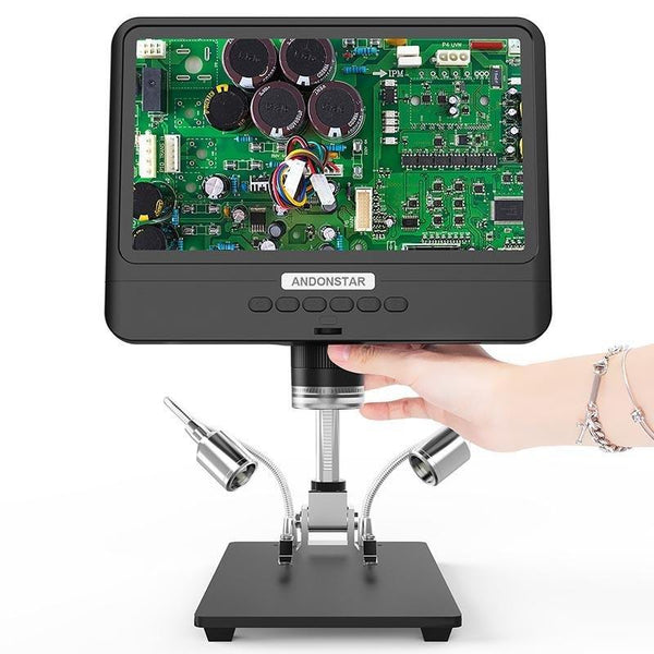 How to Calculate the Magnification of Andonstar Digital Microscope