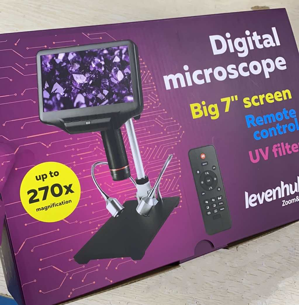Introduction to Portable Digital Microscopes in Research and Education