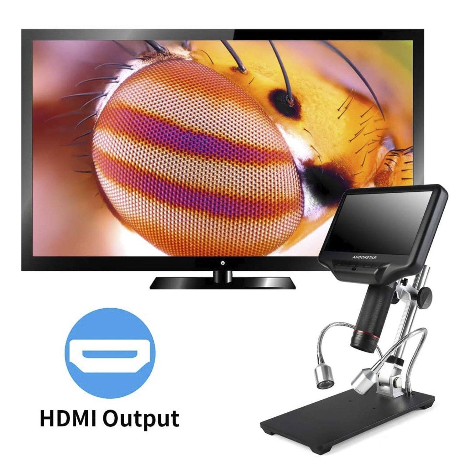 Review of Andonstar AD407 3D HDMI Digital Microscope