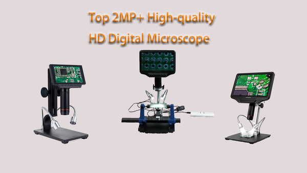 Top 2MP+ High-quality HD Digital Microscope For Phone Repairs and SMD Soldering