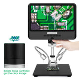 Andonstar AD208 8.5'' Handheld 1080P Digital Microscope for PCB Soldering and SMD  SMT BGA Soldering