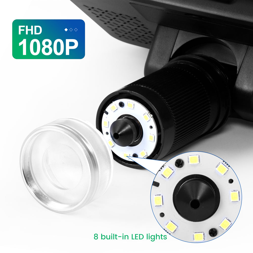 Exclusive 1080P FHD LCD Lens for Andonstar AD208 8.5'' Handheld 1080P Digital Microscope