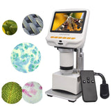 Andonstar AD105S 4.3'' FHD Display Digital Microscope for Slides Fabrics Observation