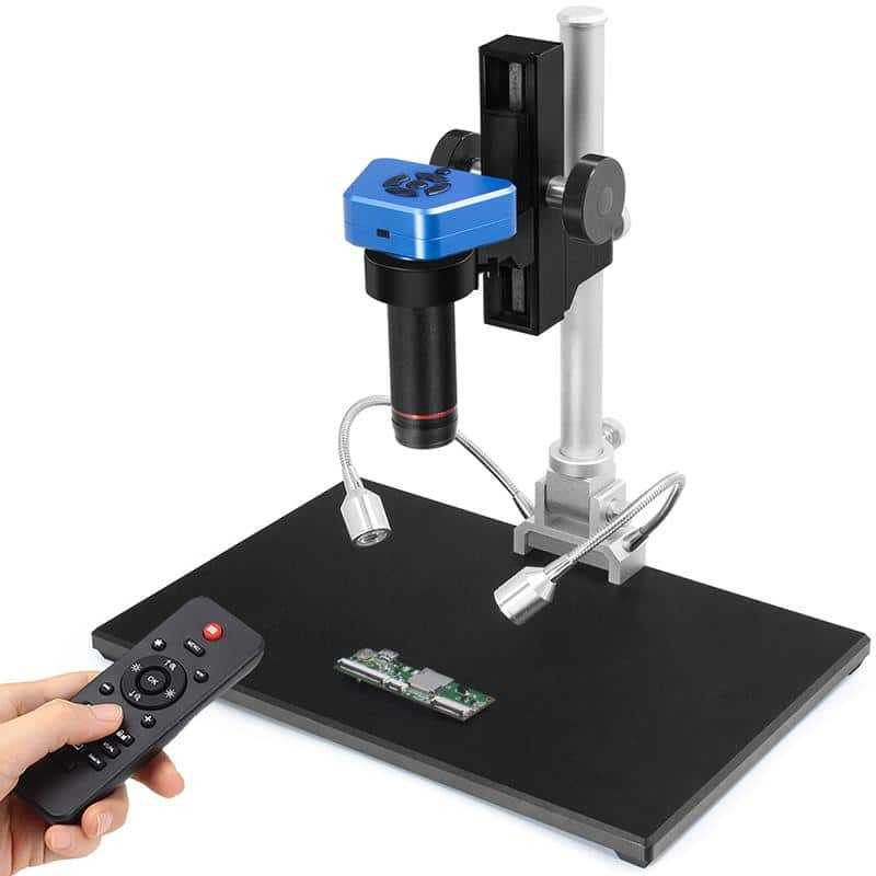 Andonstar AD1605 4K HDMI USB Digital 150X Video Microscope with 150X Industrial Lens for Phone Repair