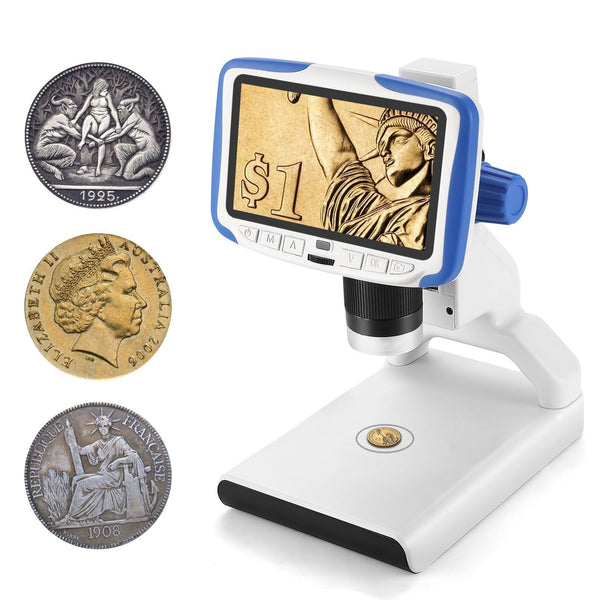 Andonstar AD205 200X Kid's Digital Microscope for Coin Collection and DIY Experiment - Andonstar