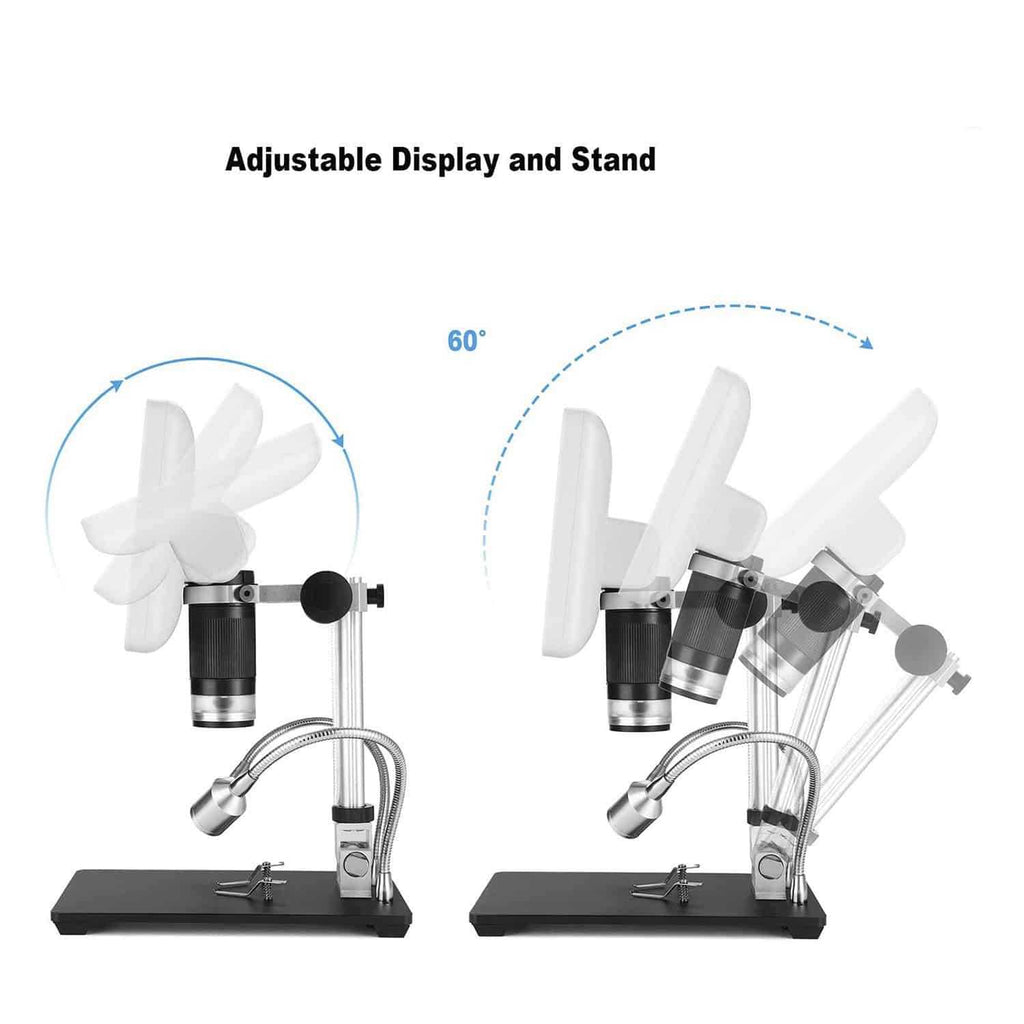 Metal Stand of Andonstar AD206 Digital Microscope with 270 Adjustable Degrees