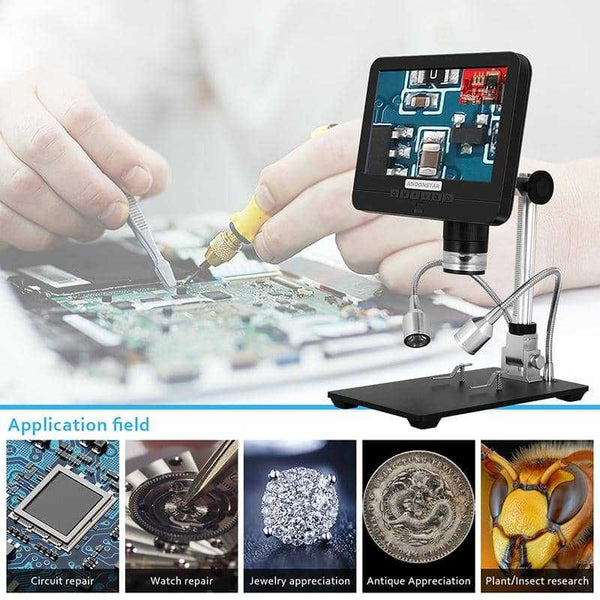 Andonstar AD206S Dual Lens Digital Microscope with Endoscope - Andonstar