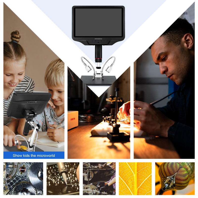 Andonstar AD409 10.1-inch Display HDMI WIFI Digital Microscope - Andonstar