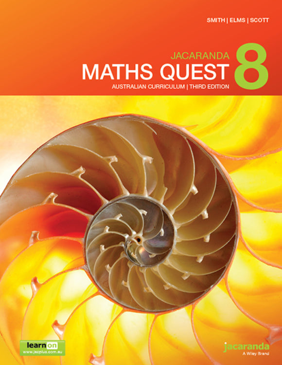 Jacaranda Maths Quest 8 for the AC 3rd Ed LearnON & Print 9780730346746