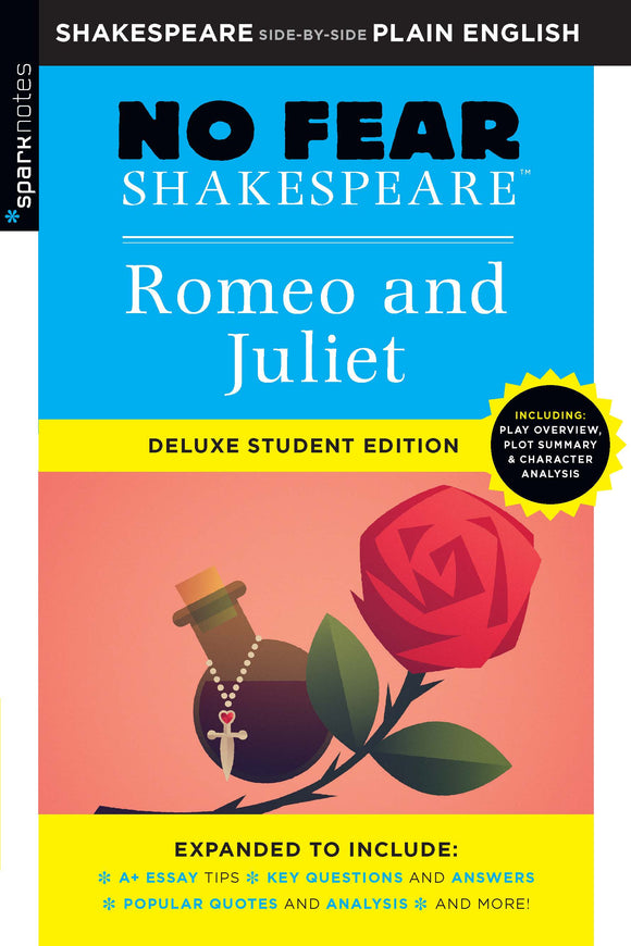 Romeo and Juliet (No Fear Shakespeare Deluxe Student Edition) 9781411479715