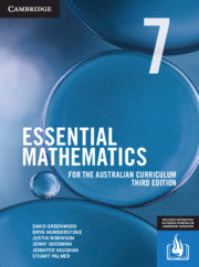 Essential Mathematics for the Australian Curriculum Year 7 3rd Ed 9781108772686