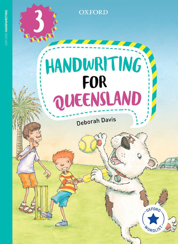 Oxford Handwriting for Queensland Year 3 9780190320249