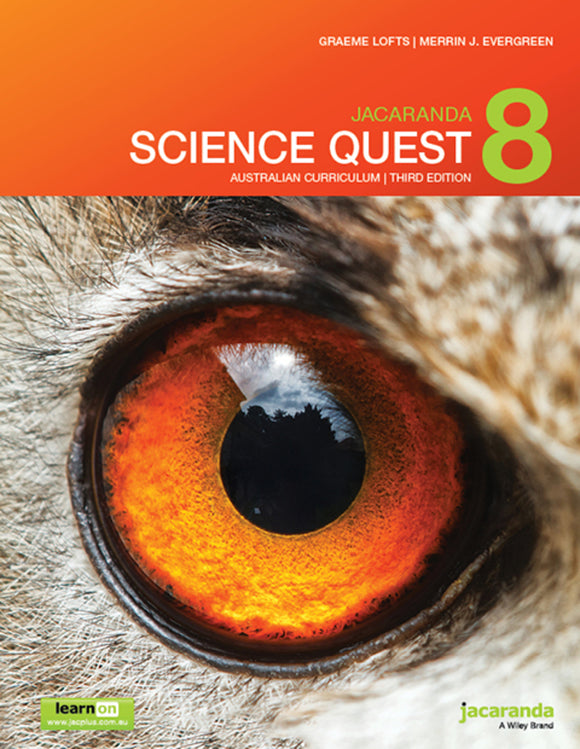 Jacaranda Science Quest 8 for the AC 3rd Ed LearnON & Print 9780730346777