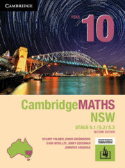 Cambridge Maths Stage 5 NSW 2nd Ed Year 10 5.1/5.2/5.3 9781108468473
