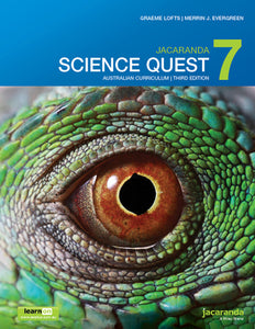 Jacaranda Science Quest 7 for the AC 3rd Ed LearnON & Print 9780730347002