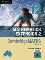 Cambridge Maths Stage 6 NSW Extension 2 Year 12 9781108771054