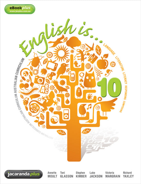 English is... English for the AC Year 10 & LearnON 9781742467856